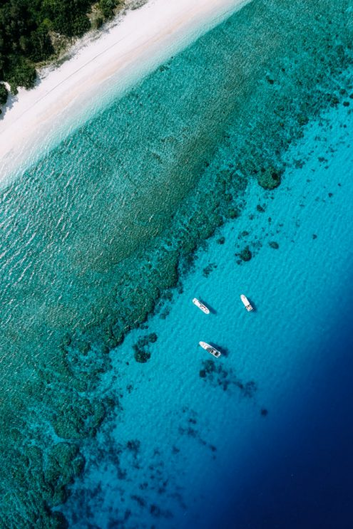 Kerama Islands, Japan off-the-beaten-path drone photography by Ippei and Janine