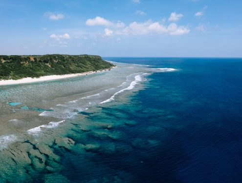 Miyako Island, Japan off-the-beaten-path drone photography by Ippei and Janine