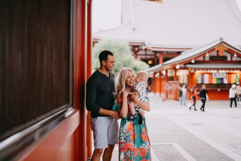 English speaking Tokyo portrait photographer - Tokyo family photography by Ippei and Janine
