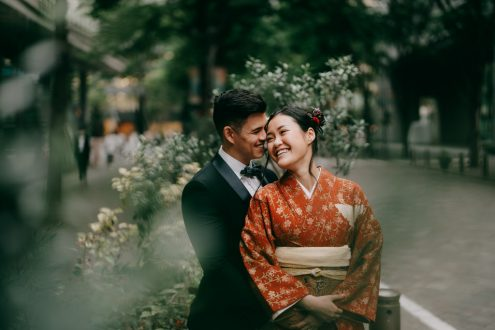 Tokyo elopement wedding photographer - Ippei and Janine Photography