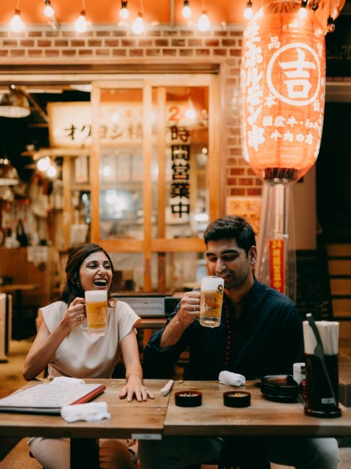 Tokyo engagement photographer - Pre-wedding portrait photography