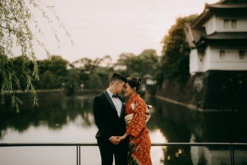 Tokyo elopement photographer - Japan wedding portrait photography
