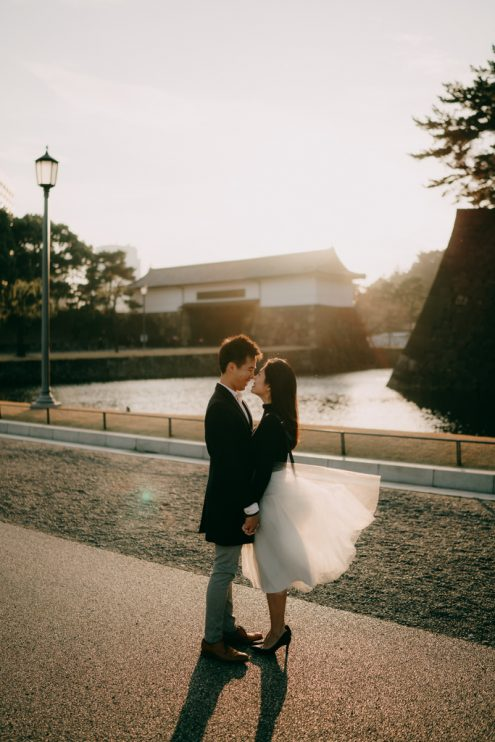 Pre-wedding photography in Tokyo - Tokyo portrait photographer