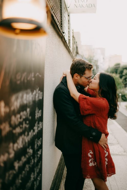 English speaking Tokyo portrait photographer - Pre-wedding photography by Ippei and Janine