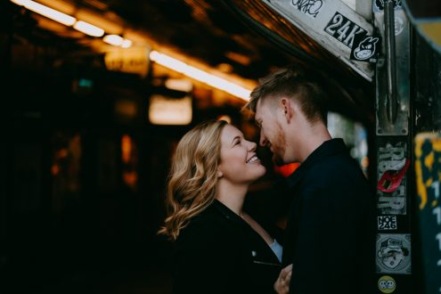 Tokyo pre-wedding photography - Tokyo portrait photographer Ippei and Janine