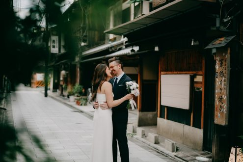 English speaking Kyoto wedding photographer - Ippei and Janine Photography