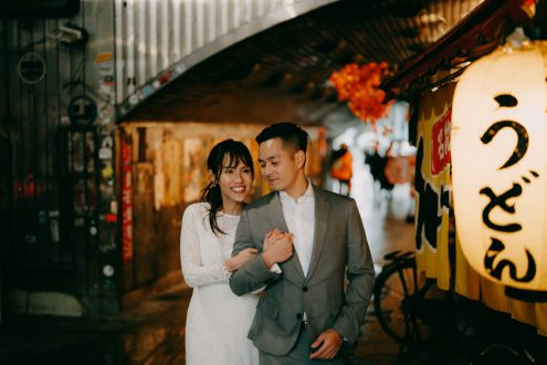 Tokyo elopement photographer - Japan couple portrait photography