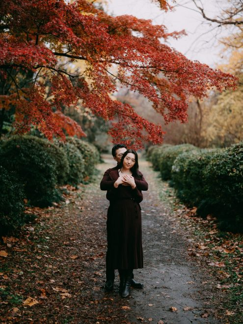 Tokyo pre-wedding photographer - Engagement portrait photography