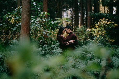 Tokyo engagement pre-wedding photography - Japan portrait photographer Ippei and Janine