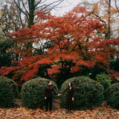Tokyo pre-wedding photography - Portrait photographer Ippei & Janine