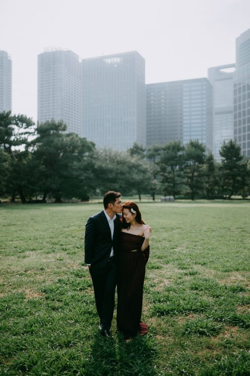 Tokyo pre-wedding engagement photographer - Ippei and Janine Photography