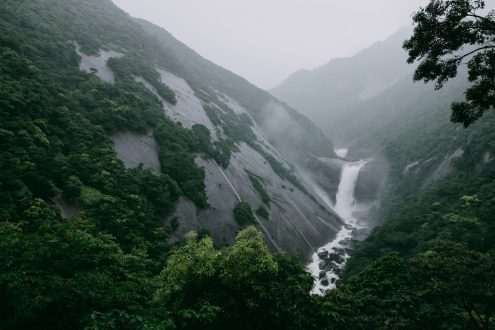 Yakushima waterfall, Japan off-the-beaten-path nature photography by Ippei and Janine