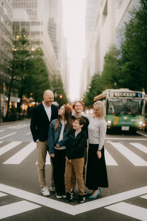 Tokyo family portrait photography by Ippei and Janine