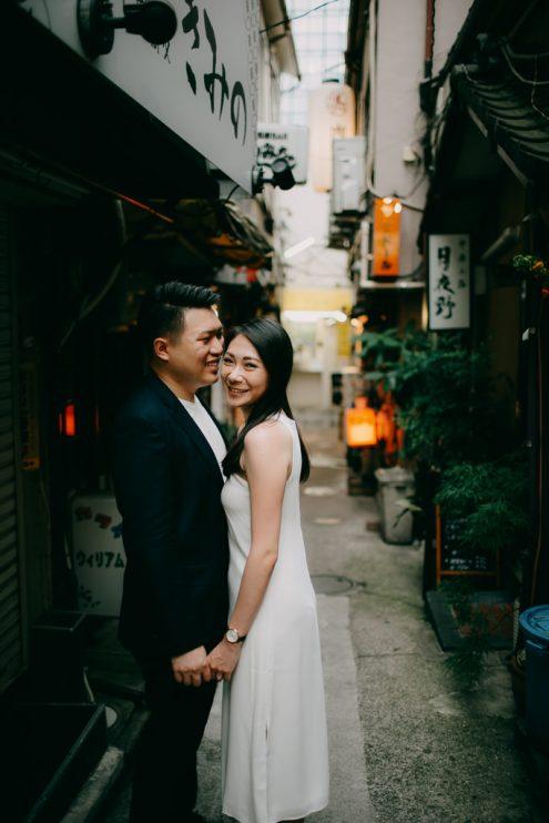 Tokyo engagement portrait photographer - Tokyo pre-wedding photography