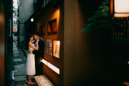 Tokyo pre-wedding portrait photography