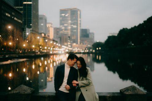 Tokyo engagement photographer - Pre-wedding portrait photography