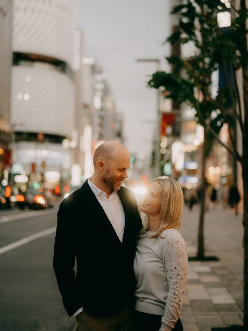 Tokyo couple portrait photographer - Ippei and Janine Photography