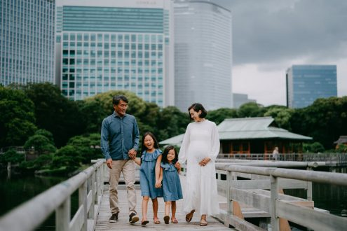 Tokyo maternity family photography - Japan portrait photographer Ippei and Janine