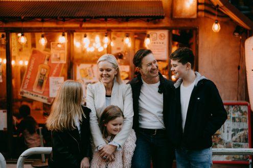 Tokyo family portrait photographer