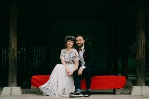 Tokyo elopement wedding photography by Ippei and Janine - English speaking portrait photographer