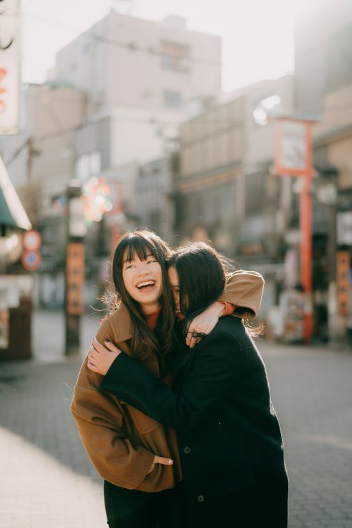 Tokyo family portrait photography - English speaking Tokyo photographer Ippei and Janine