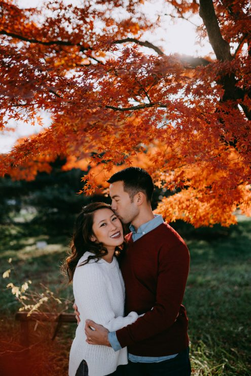 Tokyo portrait photographer - Japan engagement pre-wedding photography by Ippei and Janine