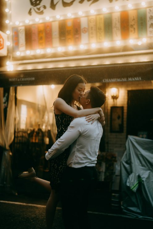 Tokyo engagement portrait photographer - Japan pre-wedding photography - Ippei and Janine