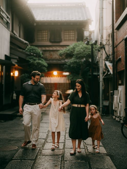 Tokyo family photography by Ippei and Janine