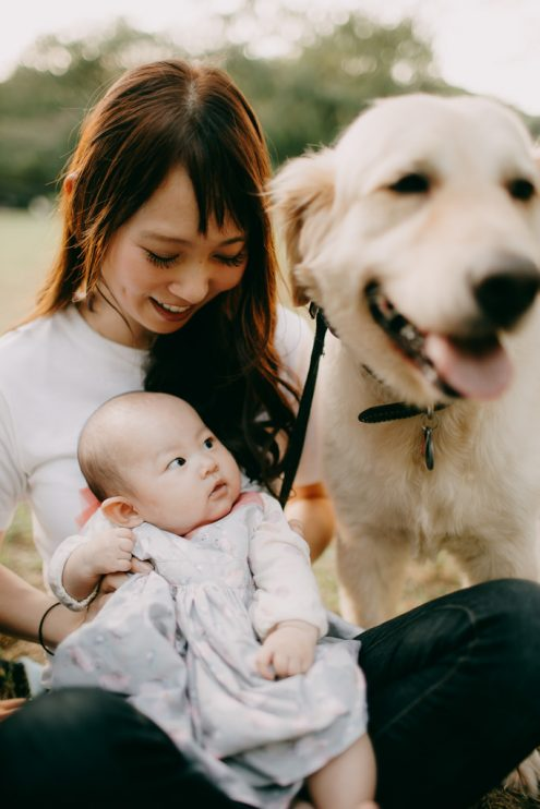 English speaking Tokyo family photographer Ippei and Janine - Japan family portrait photography