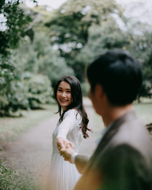 Tokyo portrait photographer Ippei and Janine - Tokyo engagement pre-wedding photography