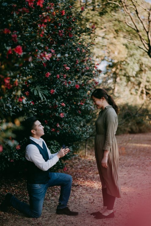 Tokyo proposal photography - Japan portrait photographer Ippei and Janine