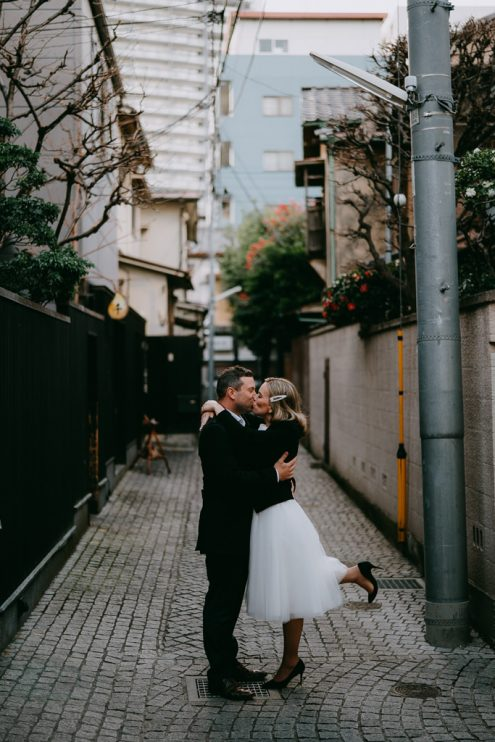 Tokyo elopement photography - Tokyo Photographer Ippei and Janine