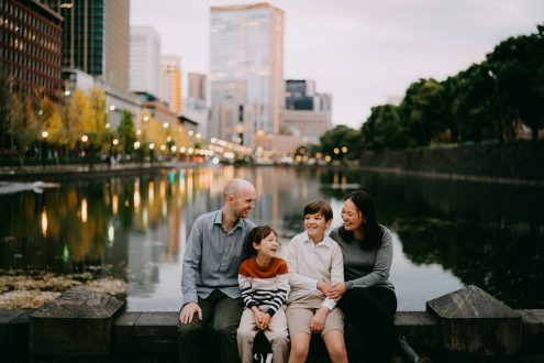 Tokyo family photographer - Japan family portrait photography