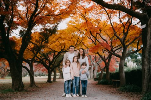 Tokyo family portrait photographer - Ippei and Janine