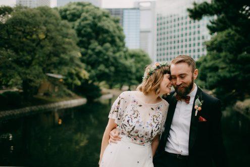 Tokyo elopement wedding photographer Ippei and Janine