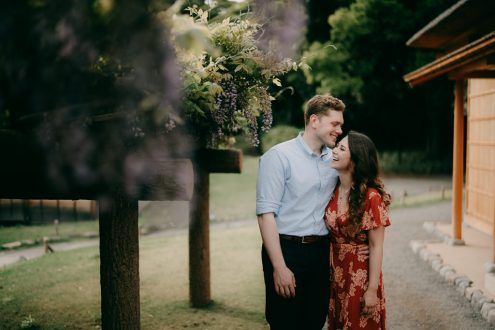 Tokyo engagement pre-wedding photography - Tokyo portrait photographer Ippei and Janine