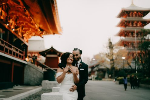Tokyo pre-wedding photographer - Tokyo portrait photography by Ippei and Janine