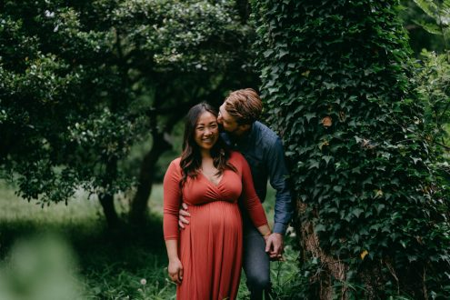 Tokyo maternity photographer - Ippei and Janine portrait photography