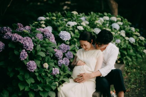 Tokyo maternity portrait photographer - Ippei and Janine Photography