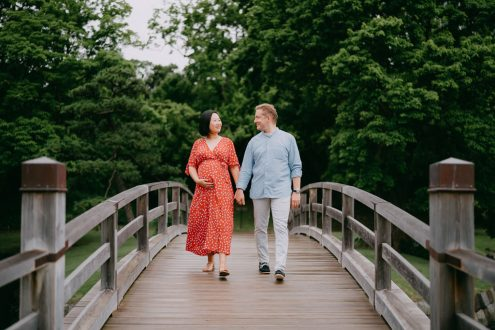 Tokyo maternity photography - Ippei and Janine portrait photographer