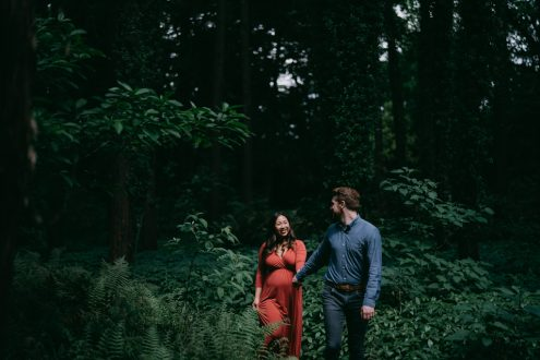 Tokyo maternity photography - Ippei and Janine portrait photography