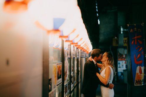 Tokyo elopement wedding photographer - Japan portrait photography