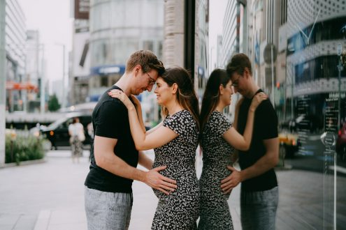 Tokyo maternity photographer - Japan portrait photography by Ippei and Janine