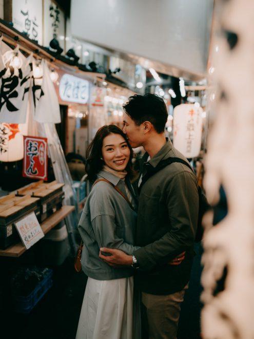 Tokyo engagement portrait photographer - Japan pre-wedding photography