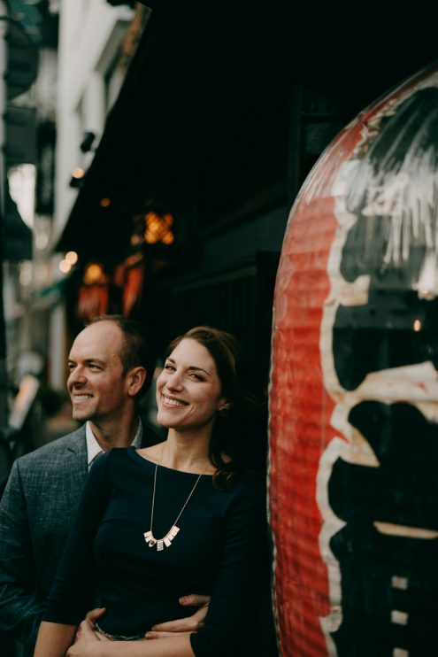 Tokyo engagement portrait photography - Japan pre-wedding photographer Ippei and Janine