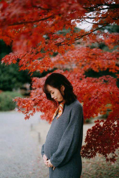 Tokyo maternity photoshoot - Portrait photography in Tokyo