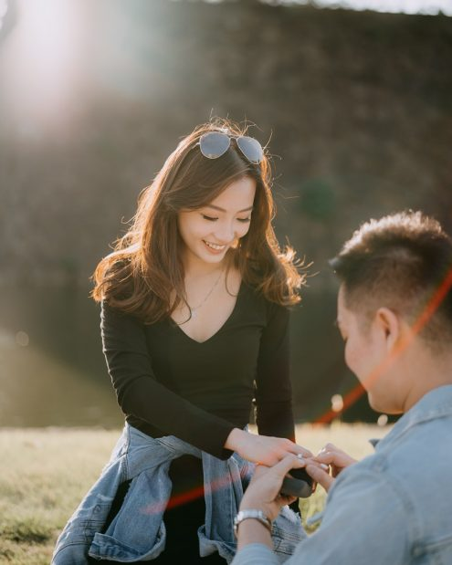 Tokyo surprise proposal photography - Japan portrait photographer Ippei and Janine