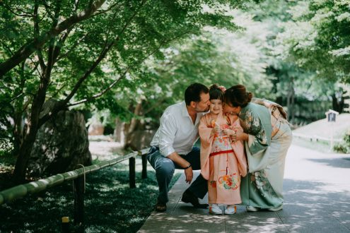 Tokyo family portrait photographer - Japan vacation photography