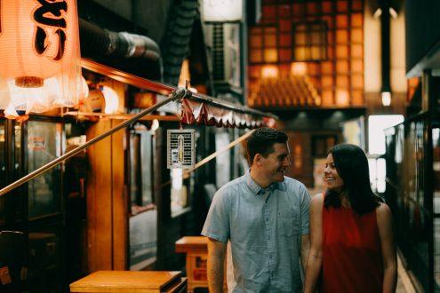 English speaking Tokyo portrait photographer - Pre-wedding portrait photography in Tokyo