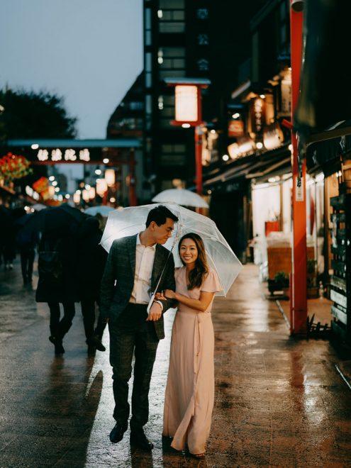 Tokyo pre-wedding photography - Tokyo portrait photographer Ippei and Janine